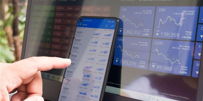 株取引画面